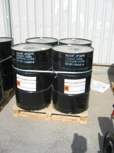 strapping for chemical barrels